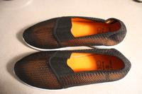 Image of A new Shoe - Orange Mesh Step in L
